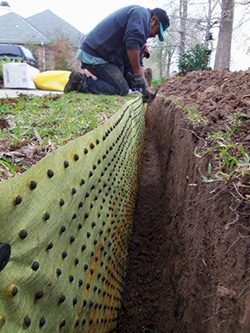Biobarrier Installation